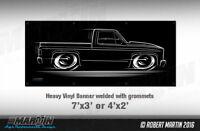 BIG Banner Square Body Chevy GMC Truck Chevrolet C10 1973-1987 82 83 84 85 86