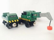 Thomas & Friends Wooden DOCK CARGO CRANE & DOCK CARGO CAR