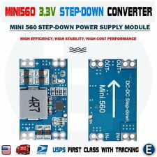 Mini560 Step-Down Stabilized Voltage Power Supply Module DC-DC Output 3.3V Buck