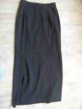 Yohji Yamamoto bodenlanger Rock m. Seitenschlitz schwarz Gr. M NEUw. BB517