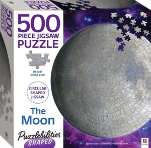 Puzzlebilities Shaped 500 Piece Jigsaw Puzzle: The Moon