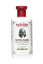 Thayers Toner Cucumber Aloe Vera Formula Alcohol-Free Witch Hazel 12 fl oz. New