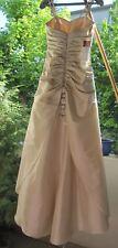 Hochzeitskleid, Neu und ungetragen, Elfenbeinfarben, Größe 34-36