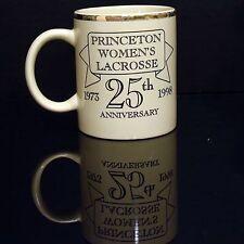 Princeton Lacrosse Mug 25th anniversary Vintage