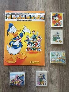 Panini That´s Donald! Disney Full Album Complete with loose stickers New/Mint