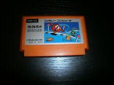 Nintendo game nes famicom (japanese version): clu clu land-cartridge only