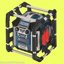 BOSCH Akku-Baustellen-Radio GML 50 0601429600 Radiolader 50 Watt
