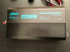 Pure Sine Wave Power Inverter 2200Watt Dc 12volt to Ac 120volt