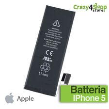 BATTERIA APPLE IPHONE 5 CAPACITA ORIGINALE 1440mAh 100% NUOVA ZERO 0 CICLI AA++
