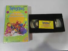 TWEENIES SERIE TV INFANTIL BBC - 2 CAPITULOS - VHS CINTA TAPE CASTELLANO
