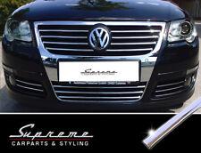 VW Passat B6 3C und Variant 3M Chrom Zierleisten für Kühlergrill alle Streben mN