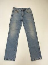 Men'S Wrangler 'Texas'S Jeans-W32 L34-Sfumata Blu Scuro Wash-ottime condizioni