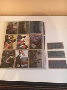 The Civil War 90 Card Set + Collectible Notes Mort Kunstler 1996 Excellent