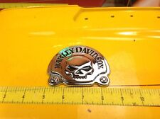 Harley Davidson Willie G Skull Sissy Bar Medallion Tour Pack Emblem Badge