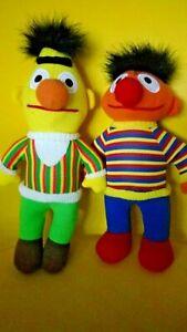 Bert & Ernie Plush Toys Sesame Street