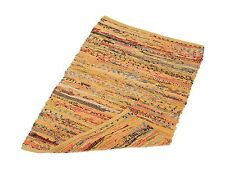 DII Home Essentials Rag Rug for Kitchen Bathroom Entry Way Laun... Free Shipping