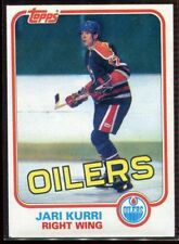 1981-82 Topps #18 Jari Kurri Rookie Card RC