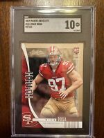 2019 Panini Absolute Nick Bosa Rookie RC SGC 10 Gem Mint 49ers