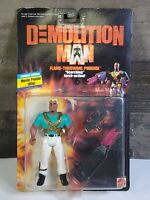 1993 DEMOLITION MAN FLAME-THROWING PHOENIX ACTION FIGURE Wesley Snipes NOC