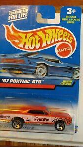 HOT WHEELS 2000  '67 PONTIAC GTO #226 TIGER RACING