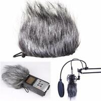Microphone Mic Muff Fur Wind Cover for Zoom H1 H2N H4N Q3 Q3HD D50 Recorder