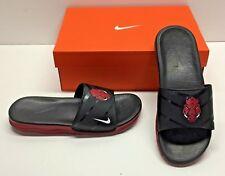 02fabcf84 Nike Benassi College Arkansas Razorbacks Solorsoft Slides Sandals Shoes Mens  9