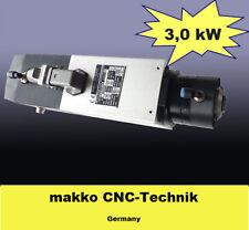 Hochfrequenz Frässpindel mit automatischem Werkzeugwechsler 3,0 kW