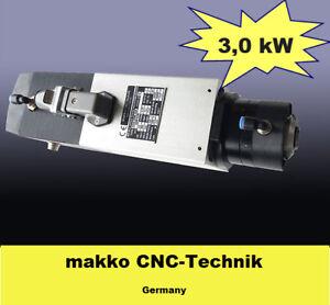 Hochfrequenz Frässpindel mit automatischem Werkzeugwechsler 3,0 kW / 24000 U/min