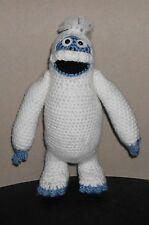 Handmade Crocheted Amigurumi Bumble from Rudolph the Red Nosed Reindeer