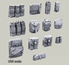 1/35 Resin Different Magazine/Utility pouches set Unassembled Unpainted BL312