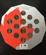 Vancouver 2010 Olympic Winter Games Coin Collection
