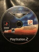 Zone of the Enders (Sony PlayStation 2, 2001) PS2 Game Disc Only
