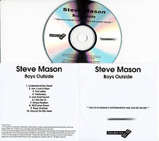 STEVE MASON Boys Outside UK 10-tk numbered/watermarked promo test CD