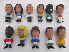 Lot 11 Figurines FOOTBALL STARS MONDIALES - FULL SET Collection Complète TCC 97