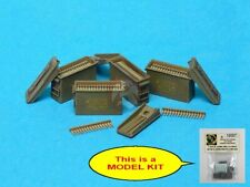 Special Ops 1/16 US M19A1 7.62mm Open Ammo Box Set w/Belts (4 pcs w/Decal) 16007