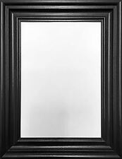 traditional photo picture poster frame wide swept wide molding black oak white