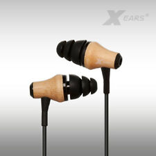 In Ear Kopfhörer Xears® aus Bambusholz  Earphones  Experience 2mm starke Kabel