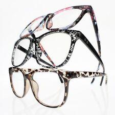 Women's Big Oversized Stars Reading Glass Presbyopia +1.0 +2.0 ~ +5.0 +5.5 +6.0