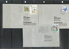 Gestempelte ungeprüfte Briefmarken aus der BRD (1980-1989) als Posten & Lots