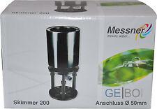Standskimmer Meßner Anschluß 50mm Skimmer 200 Teich Teleskopskimmer Teichskimmer