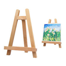 TRIANGLE DESKTOP PAINTING PHOTO ALBUM DISPLAY STAND WOOD EASEL HOLDER ALL