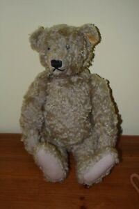 """STEIFF 16"""" CINNAMON JOINTED TEDDY BEAR"""