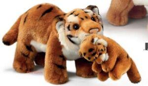 RUSS Yomiko Classics Tiger/Tigress Mum & Baby Soft Plush Toy Medium