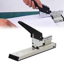 More details for heavy duty metal adjustable stapler paper bookbinding 100 sheets capacity office