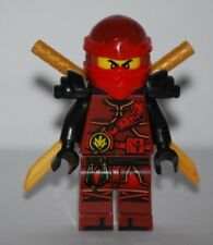 Kai  Minifigure - Lego Ninjago  Movie - Kai - Hands of Time - with Black Armour