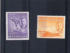 Royalty George VI (1936-1952) Seychelles Stamps (Pre-1976)