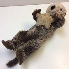 "LARGE 17½"" Fiesta Sea Otter Holding Star Plush Animal Toy • EUC‼ • FREE S/H‼"