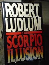 Robert Ludlum, The Scorpio Illusion, Signed,1st Edition,1st Printing, Like New
