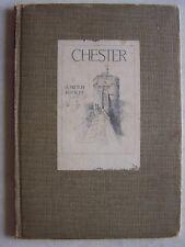 1920's Chester A Sketch Book By Joseph Pike Hardcover RARE England A&C Black