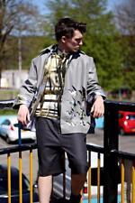 Haze Oversized Nappa Leather Jacket with Silk Lining Prototype EU48 Medium
